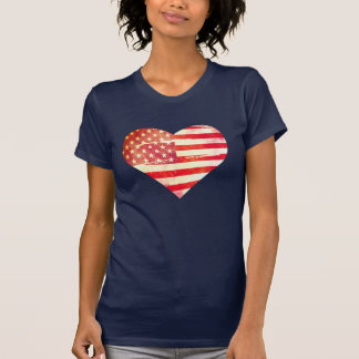 Amerikanisches Herz T-Shirt