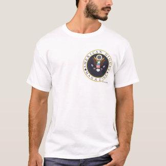Amerikanisches kleines Baggerlogo T-Shirt