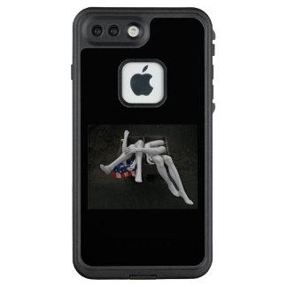 amerikanisches Mädchen LifeProof FRÄ' iPhone 8 Plus/7 Plus Hülle