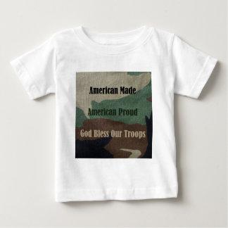 Amerikanisches Militär Baby T-shirt