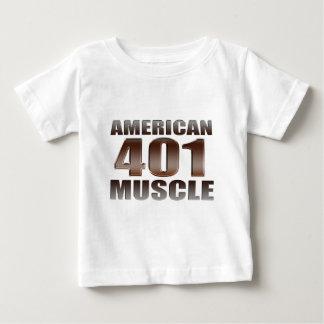 amerikanisches Muskel 401 nailhead Baby T-shirt