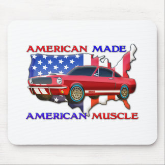 Amerikanisches Muskel-Auto Mousepad