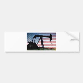 Amerikanisches Öl Autoaufkleber