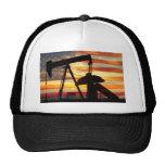 Amerikanisches Öl Trucker Mützen