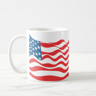 Amerikanisches patriotisches am 4. Juli Tasse