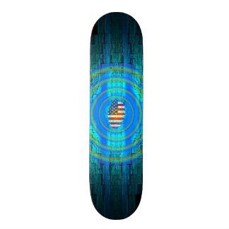 Amerikanisches patriotisches individuelle skateboards