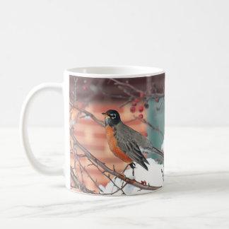 Amerikanisches Rotkehlchen Kaffeetasse