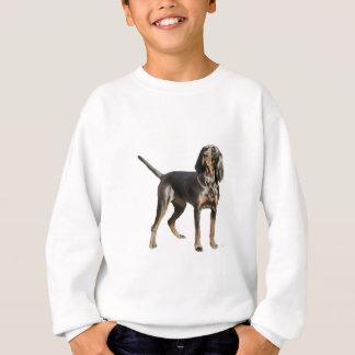 Amerikanisches Schwarzes und TAN-Waschbär-Jagdhund Sweatshirt