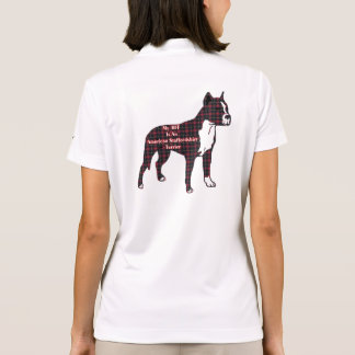 Amerikanisches Staffordshire-Terrier BESTE Polo Shirt