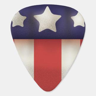 Amerikanisches Superheld Logo Plektron