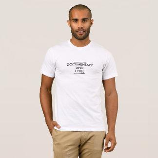 Amerikanisches T-Stück der dokumentarischen u. T-Shirt