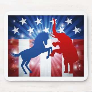 Amerikanisches Wahl-Konzept Mousepad