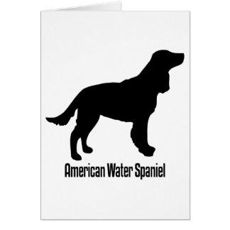 Amerikanisches Wasser1915112006 Spaniel (Animales) Karte
