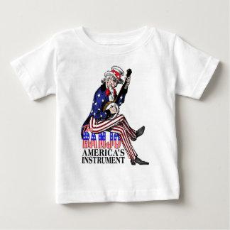 Amerikas Banjo-Säuglings-T - Shirt