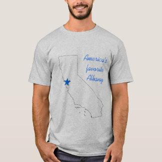 Amerikas Lieblingsalbanien (Wahl von Farben) T-Shirt
