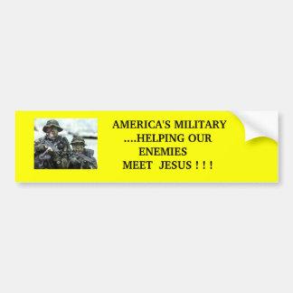 Amerikas MilitärAutoaufkleber Autoaufkleber