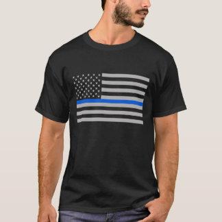 Amerikas verdünnt Blue Line T-Shirt