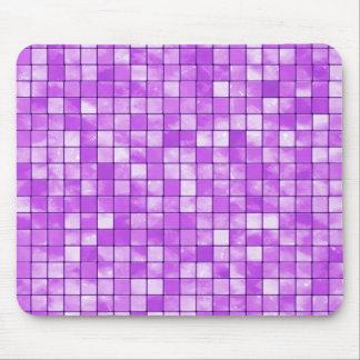 Amethyst dekorative Fliesen-geometrisches Muster Mousepad