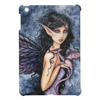 Amethyst Drache-lila feenhafte Fantasie-Kunst iPad Mini Hülle