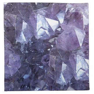 Amethyst Kristallgruppe Stoffserviette