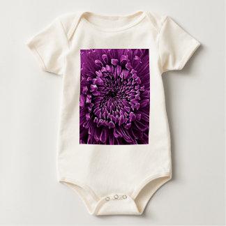 Amethyst lila Mama-Blumen-Geschenke durch Sharles Baby Strampler