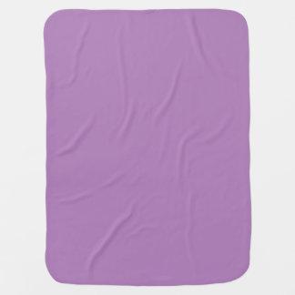 Amethyst lila personalisierter babydecke