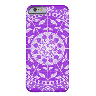 Amethyst Mandala Barely There iPhone 6 Hülle