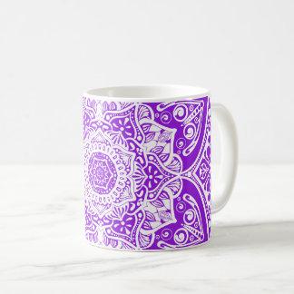 Amethyst Mandala Kaffeetasse