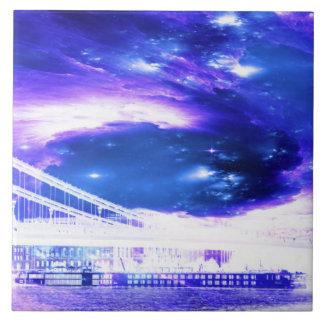 Amethyst Saphir-Budapest-Träume Fliese