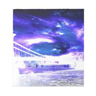 Amethyst Saphir-Budapest-Träume Notizblock