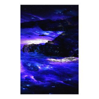 Amethyst Saphir-Inder-Träume Briefpapier