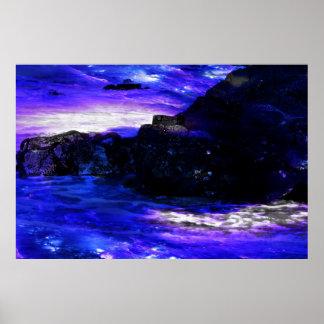 Amethyst Saphir-Inder-Träume Poster