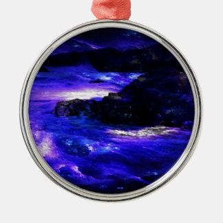 Amethyst Saphir-Inder-Träume Silbernes Ornament