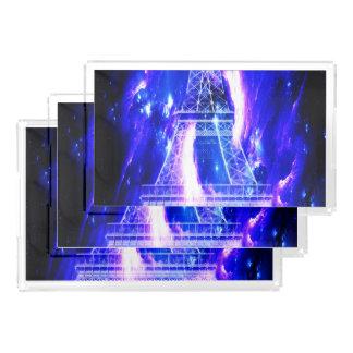 Amethyst Saphir-Paris-Träume Acryl Tablett