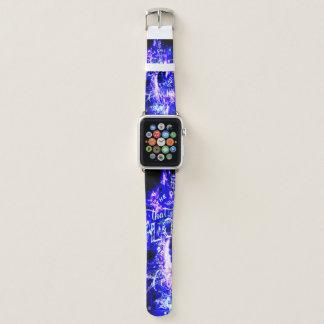 Amethyst Saphir-Pariser Träume eine die Liebe Apple Watch Armband