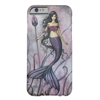 Amethyst Seephantasie-Meerjungfrau-Kunst Barely There iPhone 6 Hülle