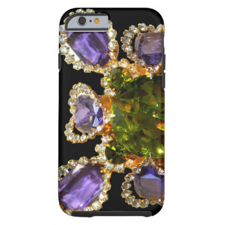 Amethyst- und Peridotahle Tough iPhone 6 Hülle
