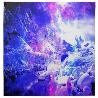 Amethyst Weihnachten-Nachtträume Serviette