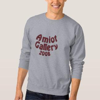 Amiot Galerie-Jahrestags-graues Rüben-Sweatshirt Besticktes Sweatshirt