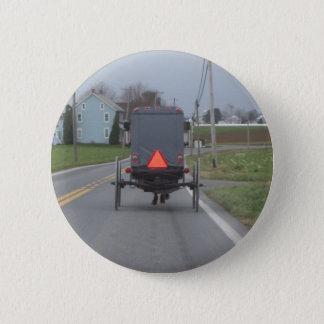 Amische Buggy Runder Button 5,7 Cm