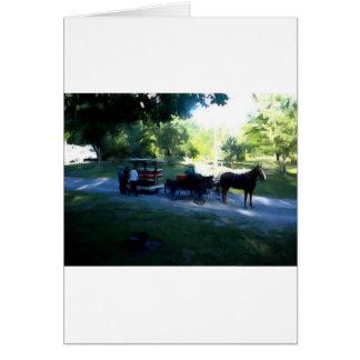 Amische Buggy und Anhänger Karte