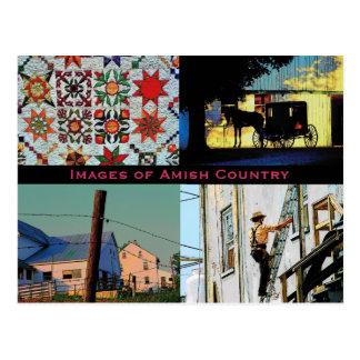 Amische Land-Postkarte