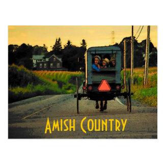 Amische Land-Postkarte Postkarten