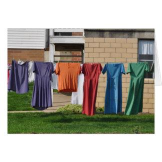 Amische Wäscherei Karte