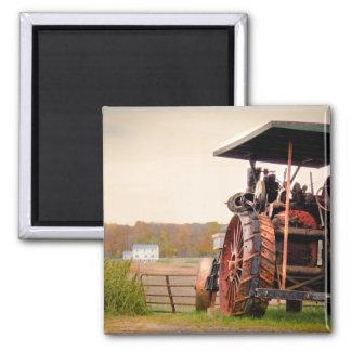 Amischer Dampf-Traktor Quadratischer Magnet
