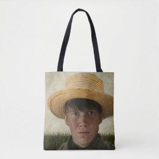 Amischer Junge Potrait Tasche