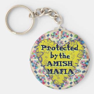Amischer Mafia-Schutz! Keychain! Schlüsselanhänger