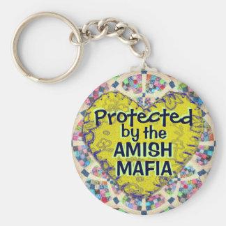 Amischer Mafia-Schutz Keychain! Schlüsselanhänger