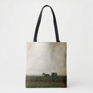 Amisches Pferd und Buggy Tasche