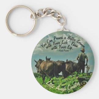 Amisches Sprichwort Keychain! Schlüsselanhänger